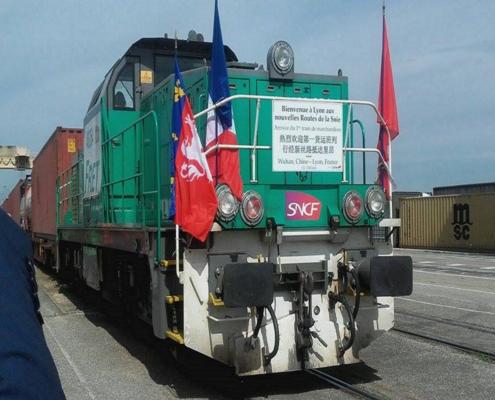 Chine vers la France